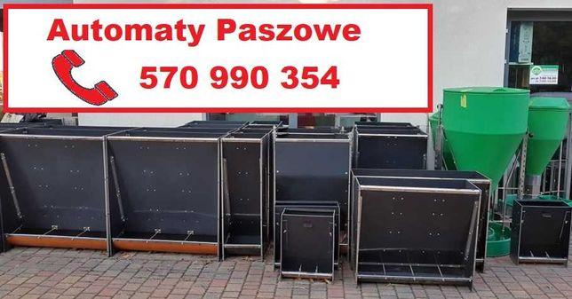 Automaty paszowe: tucznikowe/warchlakowe/prosięce-PASZOWNIK 240 l