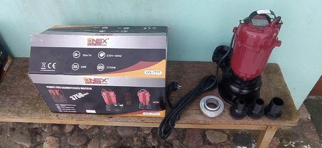 Pompa do wody brudnej i czystej z rozdrabniaczem Onex OX7777