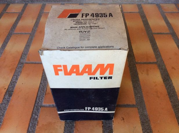 Filtro de Gasóleo Novo para Fiat 1600