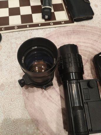 Cyclop 85 f1. 5 m42 + noktowizor. Canon,Sony.