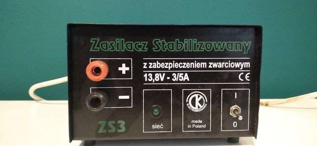 Zasilacz stabilizowany ZS3
