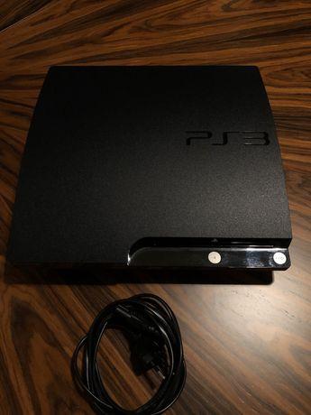 PS3 Slim funcional + 11 jogos