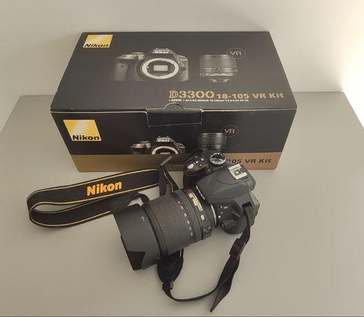 Lustrzanka Nikon D3300 + 18-105VR