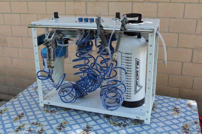 Оборудование для хромирования, установка для метализации