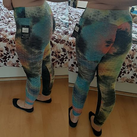 Leggins push up ginasio yoga