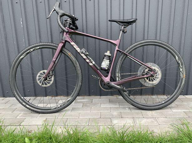"""Велосипед 28"""" Giant Revolt Advanced 1 (2020) wine purple"""