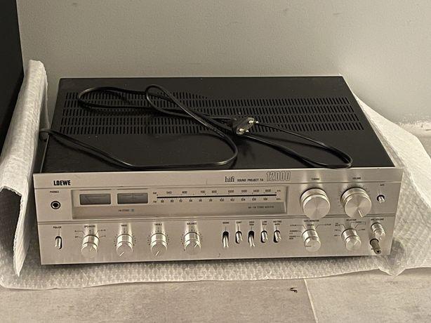 Amplituner wzmacniacz Loewe HiFi Sound Project TA 12000 Kolumny ALTON