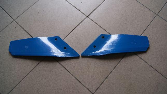 Lemiesz skrzydełkowy wygięty długi prawy lewy Lemken 10mm Smaragd