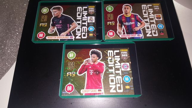 Panini Fifa 365 Updet Limited Edition 2021