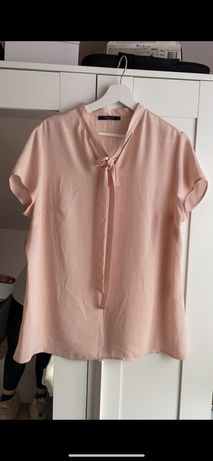 Elegancka bluzka mgiełka Mohito z wiązaniem