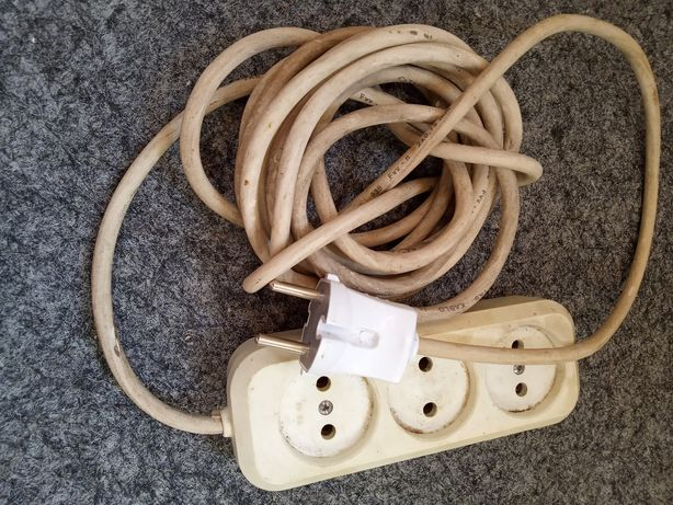 Удлинитель электрический длина 4 м