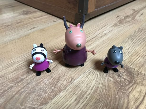 Zestaw 3 figurki Peppa
