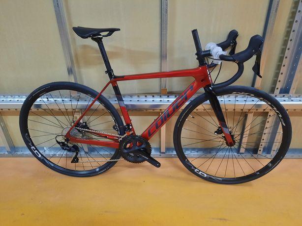 Bicicleta nova de carbono de disco s