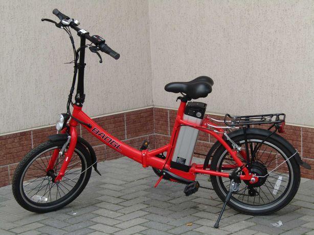 Електровелосипед BADGL, (Складный 36V/10A/350W) Батарея SAMSUNG 2021!!