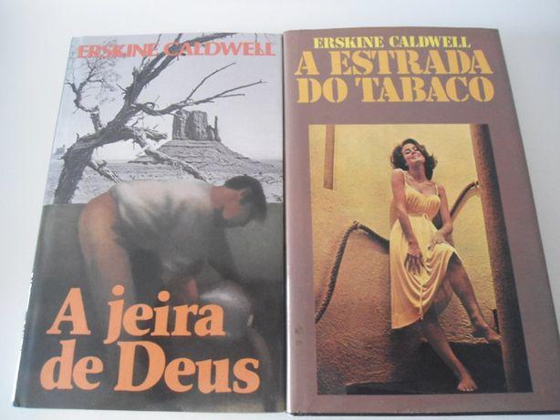 2 Obras de Erskine Caldwell (década de 80)