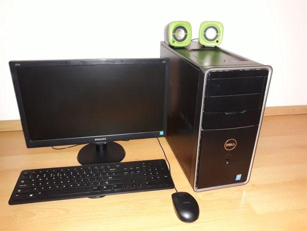 Komputer Dell Inspiron 3847 +Monitor+myszka+klawiatura+głośniki