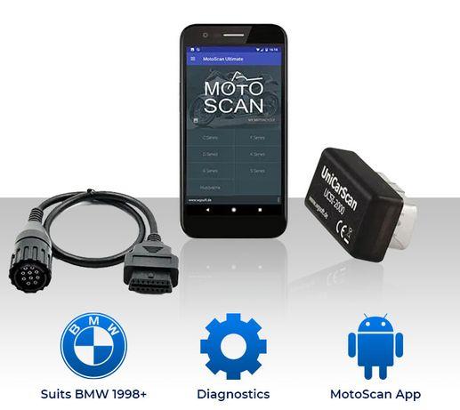 Motoscan profissional - reset service motas BMW