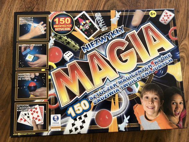 Gra Niezwykła Magia 150 sztuczek! stan idealny, super zabawa!