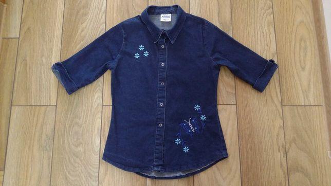 Джинсовая рубашка с вышивкой Tammy, размер 15 лет