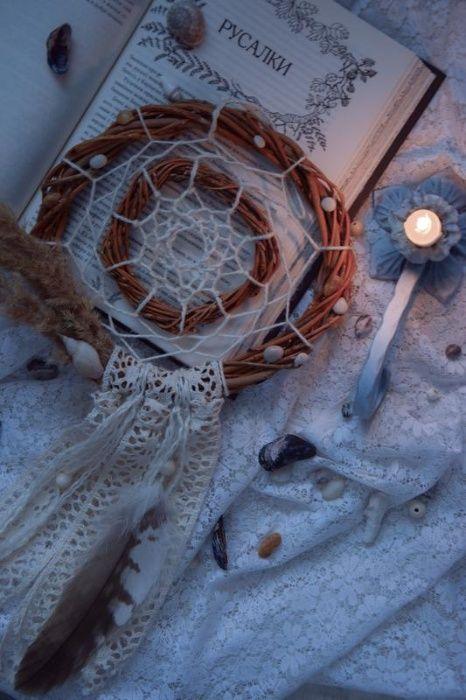 Ловець снів. Флористичний декор Киев - изображение 1