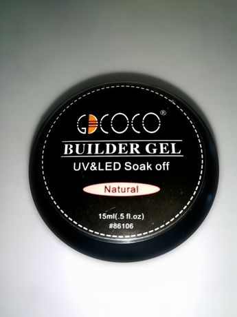 Żel cover natural budujący do przedłużania manicure żelowy gdcoco