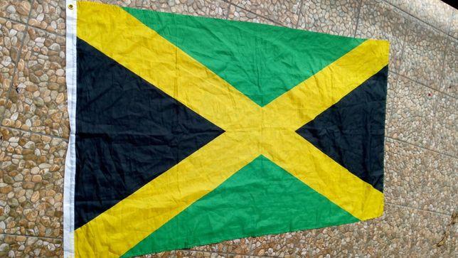 Jamajka Reprezentacja Flaga Barwy Bolt