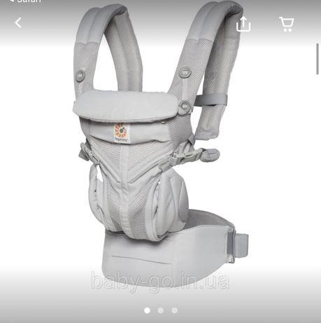 Эргономический Эрго рюкзак Ergobaby Ergo baby OMNI 360 pearl grey