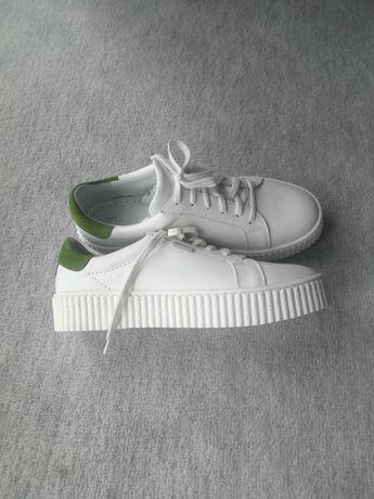 Buty sneakersy nowe Nessi r. 38 skórzane