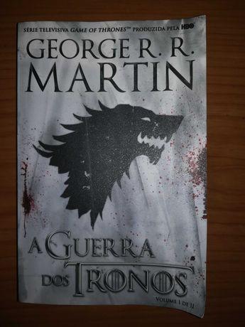 Livro Games of Thrones (Volume I de II)