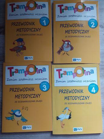 Przewodniki metodyczne Trampolina PWN 5-6 latki