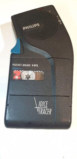 Philips Pocket Memo 191, dyktafon na mikrokasete