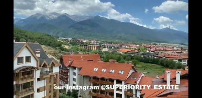 Апартамент продажа горнолыжный курорт Банско Болгария 35м2 вид на горы