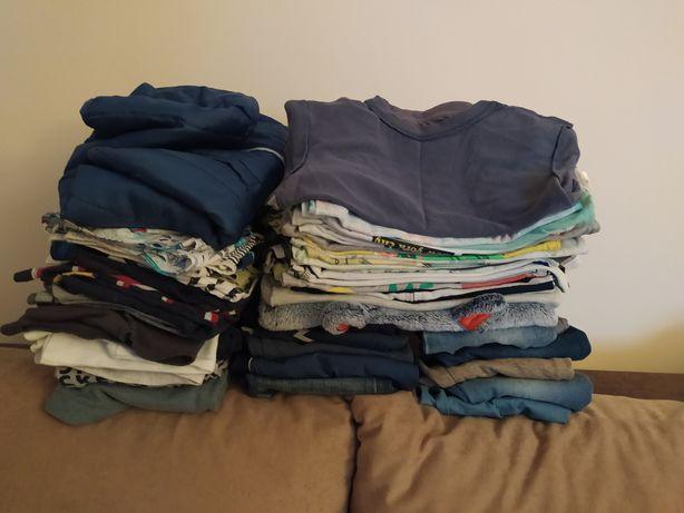 Paczka ubrań dla chłopca 86-98