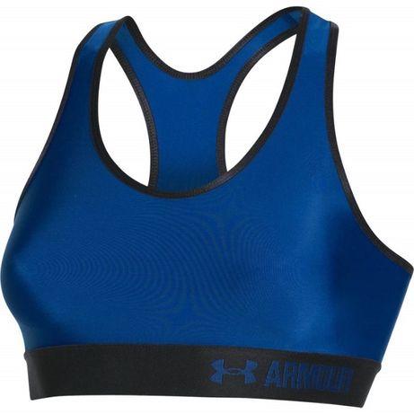 Stanik sportowy niebieski Under Armour