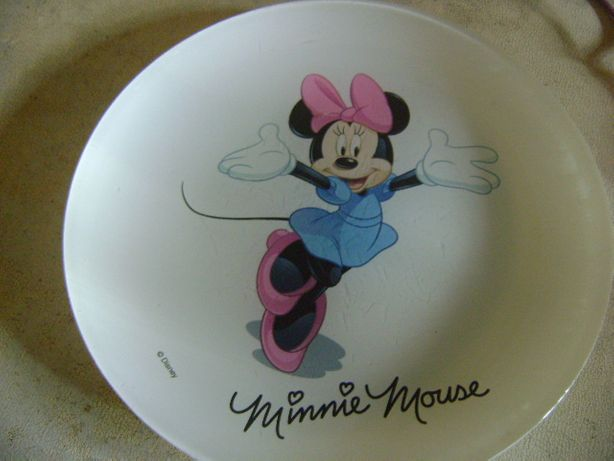minnie mouse mickey,disney,latarka,talerzyk,wysylka,kubek,kieliszki