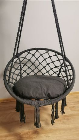 Fotel wiszący, bocianie gniazdo, huśtawka