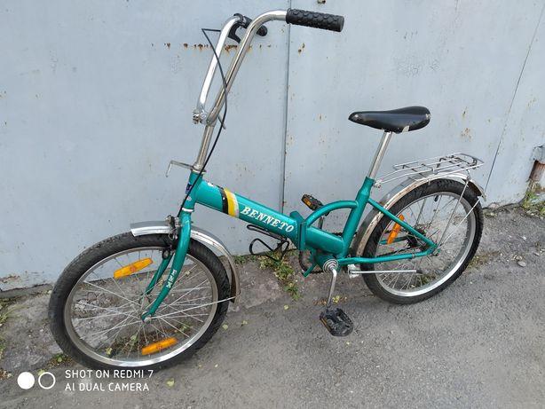 Велосипед складной Benneto