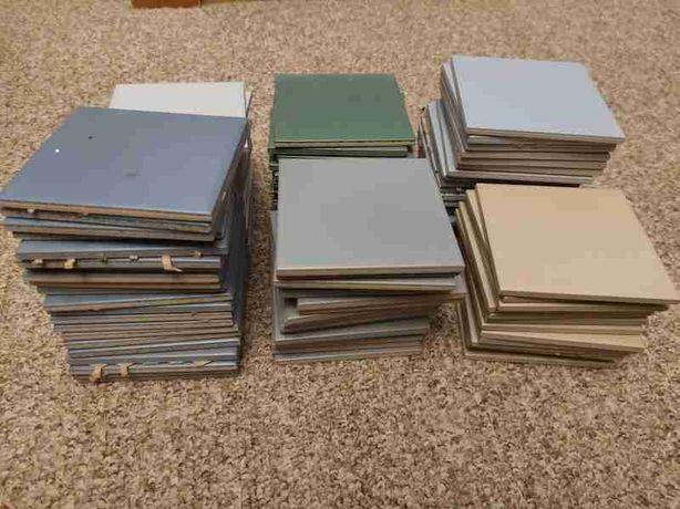 płytki ścienne ceramiczne 10 x 10 nowe kolorowe trwałe 99 szt.
