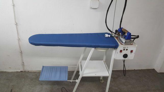 Stół deska do prasowania z wytwornica pary comel prasowalnica zelazko