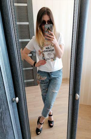 Новый летний костюм джинсы и футболка