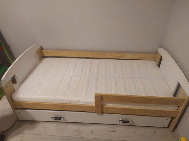 Łòżko dla dziecka 160x80 cm materac szuflada