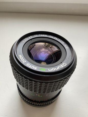 Obiektyw Ozunon 35-70mm 1:3.5-4.8 Canon FD zoom