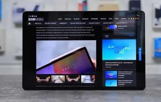 """Многофункциональный планшет Samsung Galaxy Tab Экран 10"""", 2 Сим карты"""