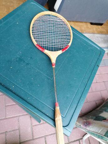 34M i 35M. Rakietki badminton 2 sztuki jedna bambus druga metal
