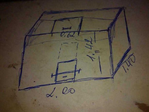 Ящик для хранения металлический