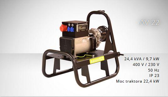 FOGO AGROVOLT AV22R 400/230volt Agregat prądotwórczy ROLNICZY F.VAT