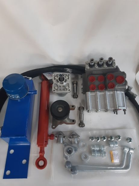 комплект гидравлика на мини трактор, мотоблок с распределителем или кр
