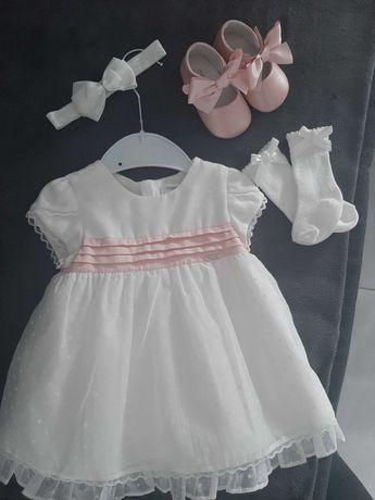 Sukienka do chrztu 70/74