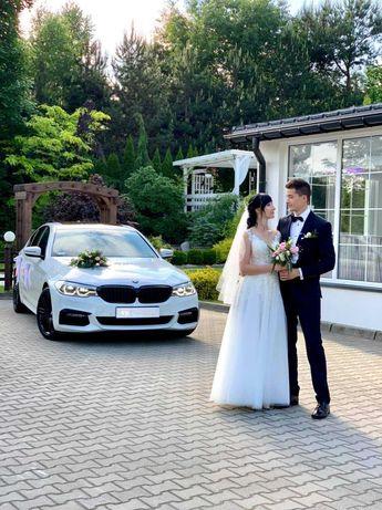 Samochód do ślubu BMW 5 M-Sport. Ślub w 2021 ? napisz, zadzwoń !