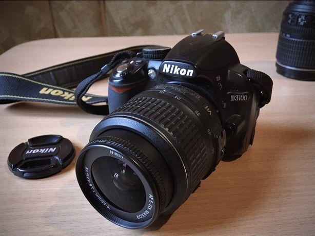 Фотоапарат Nikon D3100 kit (18-55mm) + 18-105mm